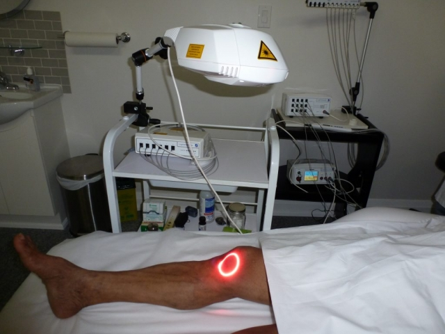 Laser Treatment for Knee Pain